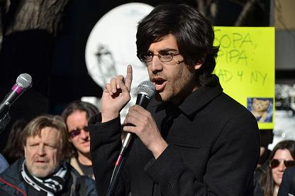 Aaron Swartz is a Scorpio Sun, Aquarius Moon (Photo:Daniel J. Sieradski)