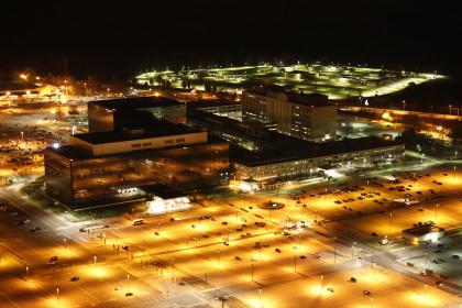 NSA Headquarters (Photo Credit: Trevor Paglen)